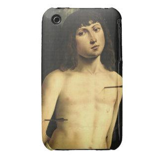 San Sebastián, c.1490s (tempera en el panel) Carcasa Para iPhone 3