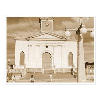 San Sebastian Church, History, Puerto Rico Postcard