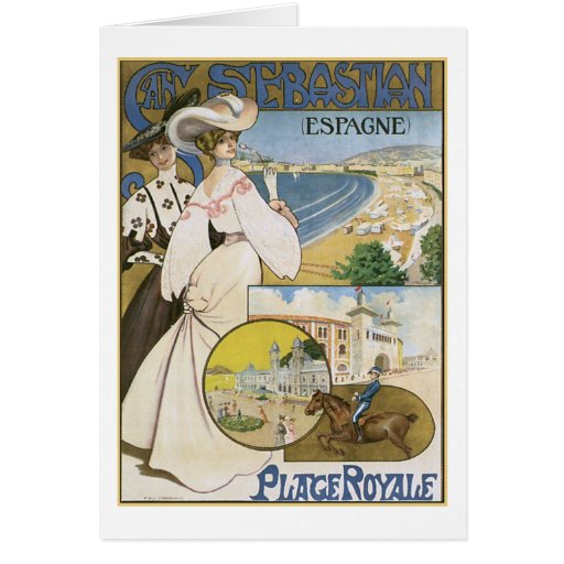 San Sebastian Espagne Greeting Cards