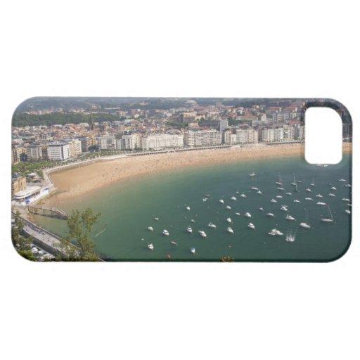 San Sebastián, España. La ciudad vasca de San iPhone 5 Coberturas