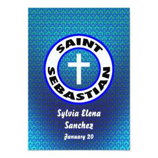 San Sebastián invita Invitación 12,7 X 17,8 Cm