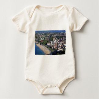 San Sebastian scenic coast Spanish Basque country Baby Bodysuit