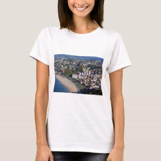 San Sebastian scenic coast Spanish Basque country T-Shirt