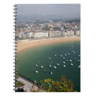 San Sebastian, Spain. The Basque city of San Notebook