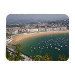 San Sebastian, Spain. The Basque city of San Rectangular Photo Magnet