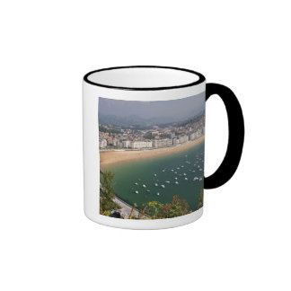 San Sebastian, Spain. The Basque city of San Ringer Mug