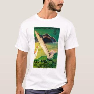 San Sebastian Vintage PosterEurope T-Shirt