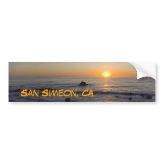 San Simeon, CA Bumper Stickers