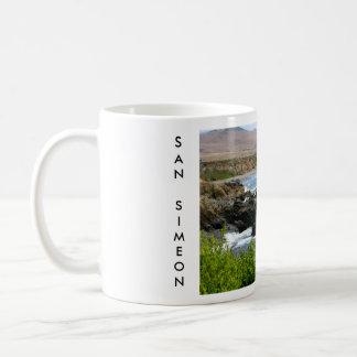 San Simeon, California Coffee Mugs