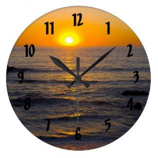 San Simeon Sunset Clock