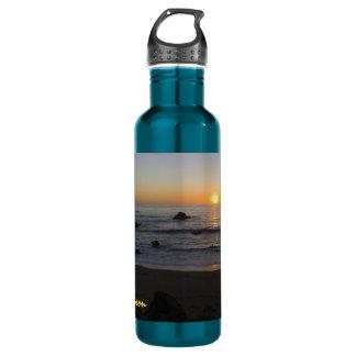 San Simeon Sunset Water Bottle