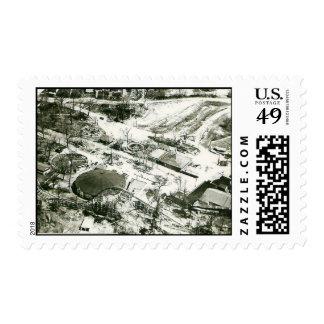 San Souci Amusement Park Postage Stamp