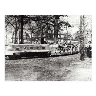 San Souci Amusement Park Postcard
