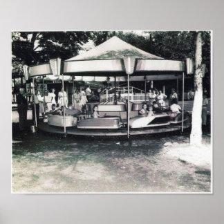 San Souci Amusement Park Poster