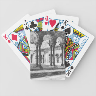San Trophine Cloister Arles France 1888 Bicycle Playing Cards