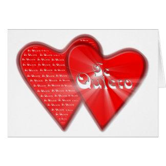 San Valentin es el dia de los enamorados Tarjeta De Felicitación