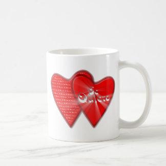 San Valentin es el dia de los enamorados Taza De Café