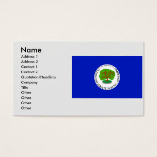 San Vicente Department, El Salvador Business Card