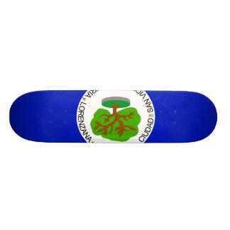 San Vicente Department, El Salvador Skate Board Deck