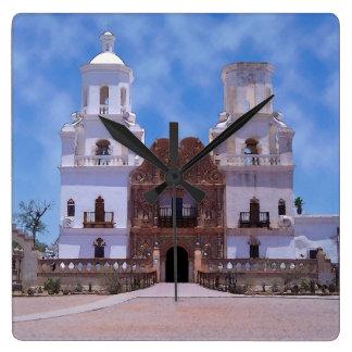 San Xavier del Bac Mission - Tucson AZ Clocks