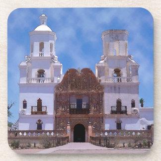 San Xavier del Bac Mission - Tucson, AZ Drink Coasters