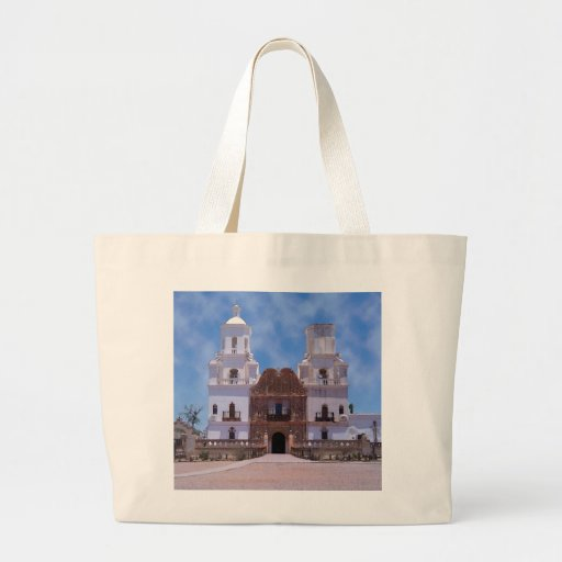 San Xavier del Bac Mission - Tucson, AZ Jumbo Tote Bag