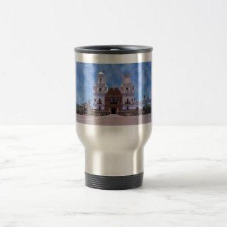 San Xavier del Bac Mission - Tucson, AZ 15 Oz Stainless Steel Travel Mug