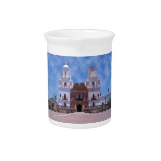 San Xavier del Bac Mission - Tucson, AZ Beverage Pitcher
