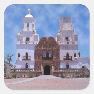 San Xavier del Bac Mission - Tucson, AZ Sticker