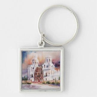 San Xavier Mission keychain