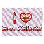 San Ysidro, CA Card