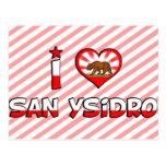San Ysidro, CA Post Card