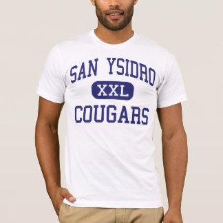 San Ysidro - Cougars - High - San Diego California T-Shirt
