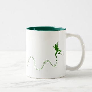 Sana rana Two-Tone coffee mug