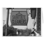 Sanatite Cleaners on Chestnut Ave Greeting Cards