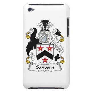 Sanborn Family Crest iPod Touch Case