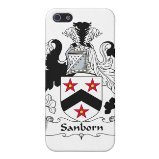 Sanborn Family Crest iPhone 5 Covers