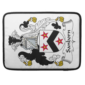 Sanborn Family Crest Sleeves For MacBook Pro