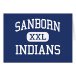 Sanborn Indians Middle Newton New Hampshire Card