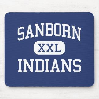 Sanborn Indians Middle Newton New Hampshire Mousepads