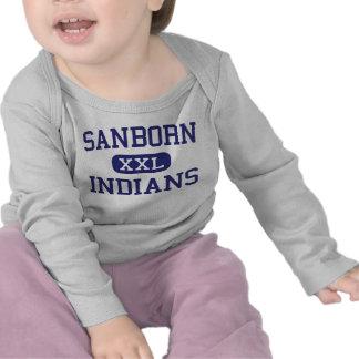 Sanborn Indians Middle Newton New Hampshire Tshirt