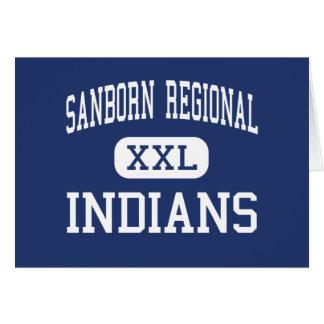 Sanborn Regional - Indians - High - Kingston Cards