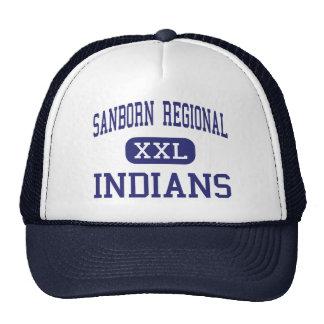 Sanborn Regional - Indians - High - Kingston Trucker Hats