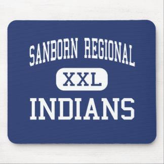 Sanborn Regional - Indians - High - Kingston Mouse Mats