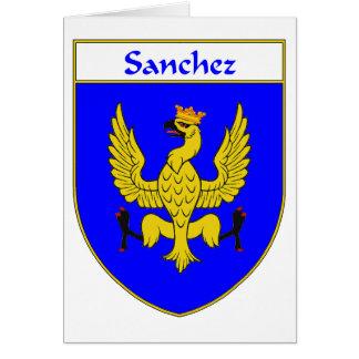 Sanchez Coat of Arms/Family Crest Card