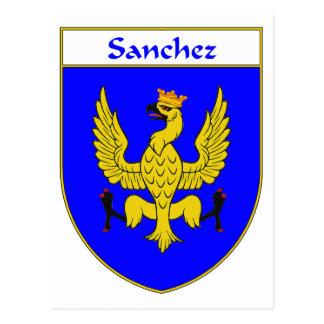 Sanchez Coat of Arms/Family Crest Postcard