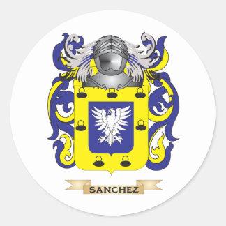 Sanchez Coat of Arms (Family Crest) Sticker