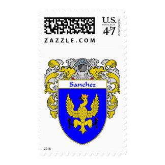 Sanchez Coat of Arms (Mantled) Postage