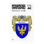Sanchez Coat of Arms (Mantled) Postage Stamps