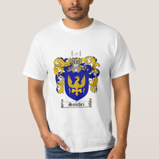 Sanchez Family Crest - Sanchez Coat of Arms T-Shirt